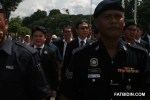Representatives of the Malaysian Bar being escorted into Parliament