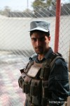 A young Afghan National Police (ANP)