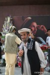 Abdul Salam came from afar to celebrate Massoud Day.