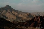 The Bamiyan landscape.