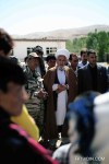 Mullah Ali Muhammadi and MALCON ISAF 2 Commander, Lt. Col. Rusman Sanip.