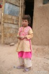 A little village girl in Bamiyan.