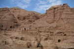 The cave village next to the Buddhas of Bamiyan.