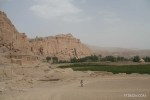 The Buddhas of Bamiyan has been declared a UNESCO heritage site.