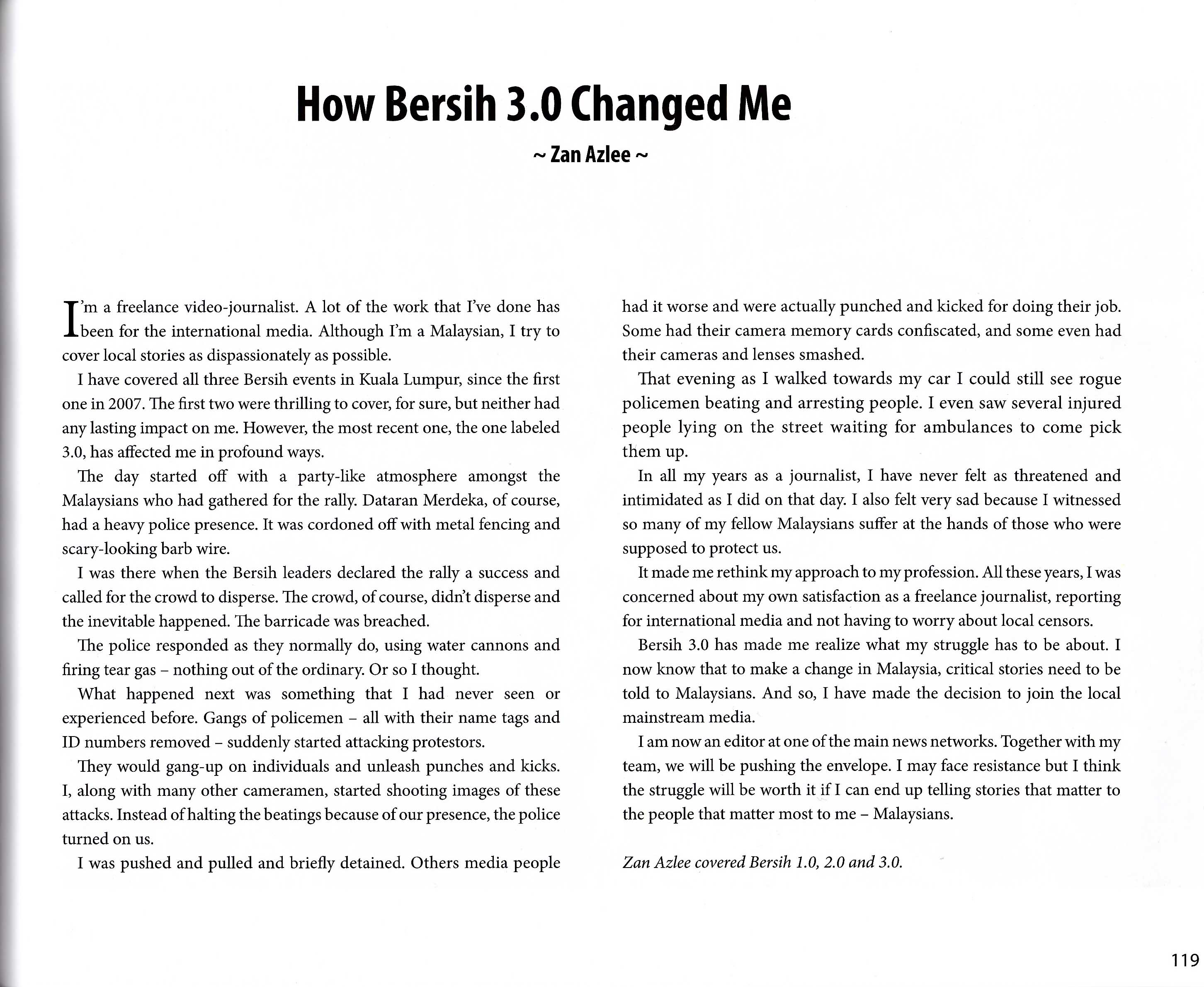 how bersih changed me as a father as a journalist and as a  bersih 3