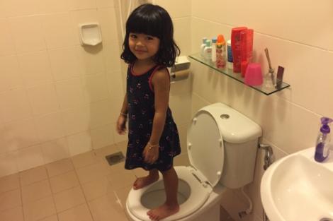 athena toilet