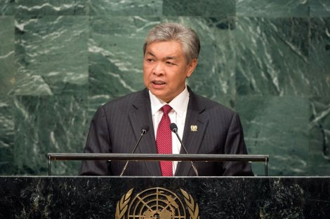 Malaysia H.E. Mr. Ahmad Zahid Hamidi Deputy Prime Minister General Assembly Seventy-first session 20th plenary meeting General Debate
