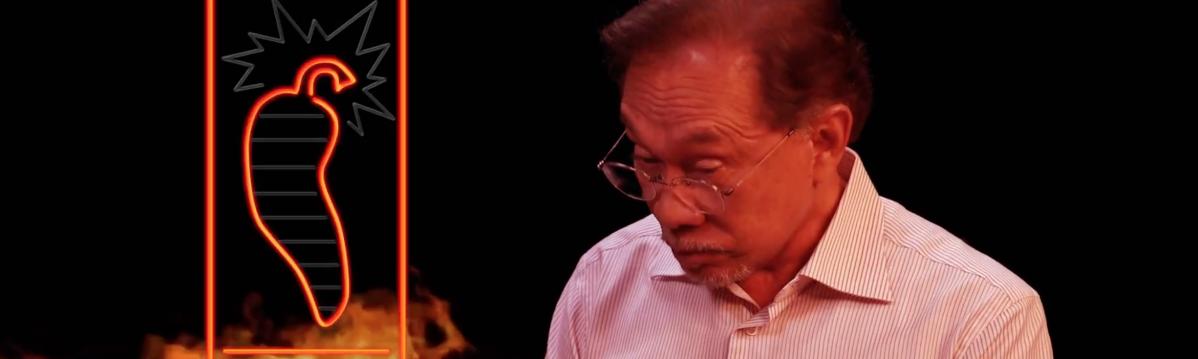 The Fat Bidin Film Club (Ep 172) - Hot Ones featuring Datuk Seri Anwar Ibrahim